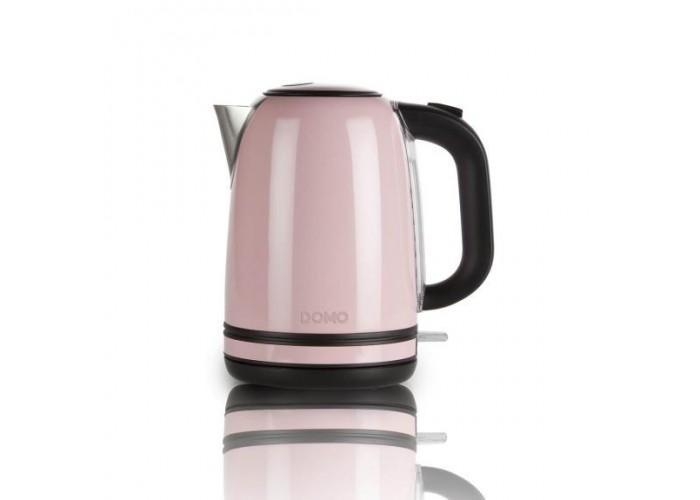 Електрочайник рожевий DOMO DO487W