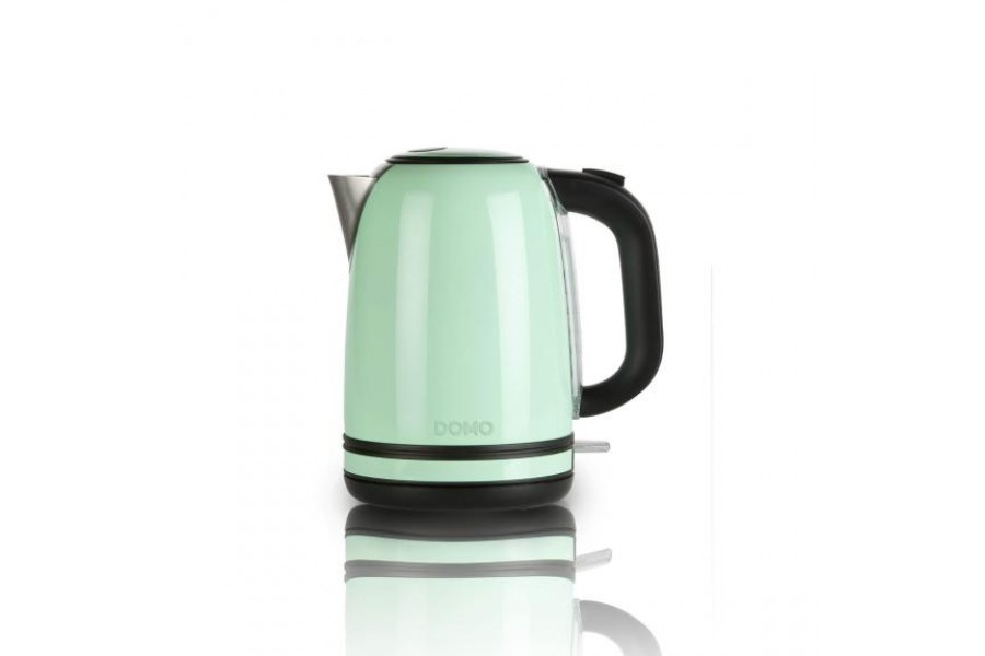 Чайник для води з нержавіючої сталі зеленого кольору - ретро серія Domo DO488WK